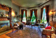 victorian homes interior living room