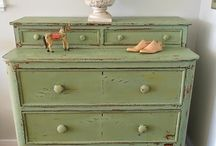 Painted Furniture / Everything is getting painted these days.  / by ronnie gunn tucker