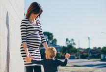 Nursing wear / Breastfeeding clothes for trendy, stylish, modern mums.