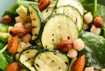 Recipe: vegan Salads