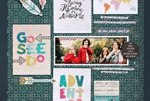 Cocoa Daisy August 2015:  Hemingway / We carefully curate Scrapbooking, Day in the Life (Project Life or pocket scrapbooking), Day Planner (organizers, filofax, kikki k, planner), and Art Journaling kits every month. / by Cocoa Daisy Scrapbooking