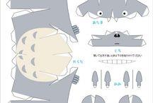 Paper craft anime