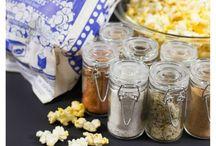 Popcorn Themed Fun Night