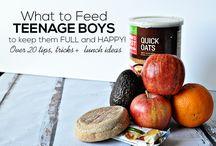 Feeding Teens / All ideas to help with our boys
