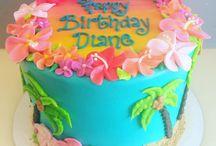 Hawaiian Themed Kid's Bdays / For Lily's bday party