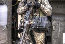 helicopter door gunner