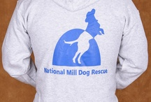 Shop NMDR / Purchase National Mill Dog Rescue logo merchandise and help us raise more money to save dogs from puppy mills.  Visit our CafePress store here: http://www.cafepress.com/nationalmilldogrescue / by National Mill Dog Rescue