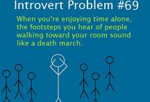 Introvert problem(s)