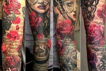 Egész kar tattoooo!!!