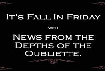 News From the Depths of the Oubliette