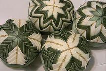 Christmas Fabric Balls