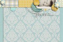Scrapbook Pages - Little Boys