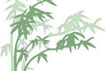 Vystřihovánky Bambus