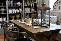 Lantligt bord