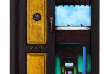 Door paintings / the door speak thousand things