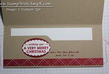 Stampin' Up! Envelope Punch Board.