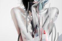 Louise Mertens / http://graphicmixedmedia.altervista.org/sensual-neon-louise-mertens/