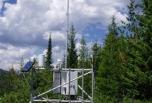 RAWS and Radios / Remote Automated Weather Stations and Radio Equipment....two essentials to fire management and safety of firefighters