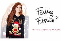Feeling Festive! / Feeling all festive at the hub, check out our selection of sequined gorgeous items aswell as our Christmas wish list! With added humour we also have our Xmas jumpers at only 99 AED
