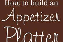 Appetizers & Food Boards ❤