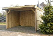Storage shed/Horse shelter / by Robbin Hopkins