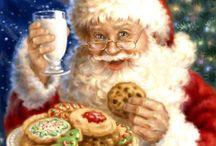 Santa, St. Nicholas, Pere Noel, ... / by Debbie Laux-Brown