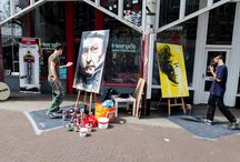 Rembrandt Art Festival 2016 / Friday July 15th 2016 we celebrated Rembrandt's 410th birthday with a street party in the Jodenbreestraat and the Sint Antoniesbreestraat. Poto's by Arthur van Megen