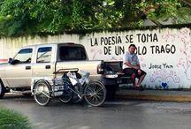 Meksiko / Meksikossa olen aiemmin viettänyt muutamia kuukausia joten alkuvuodesta 2016 oli Meksiko vain läpikulkupaikka. Lensin Torontosta Cancuniin josta bussilla Playa del Carmeniin jossa viivyin vain yhden yön. Matka jatkui bussilla Chetumaliin jossa nousin veneeseen joka vei minut Belizeen. Tässä albumissa on muutamia minun ottamia kuvia.