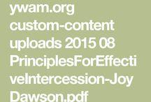 Intercession/Prayer