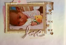 DCWV baby layouts / DCWV Baby layouts from the DCWV  DT!