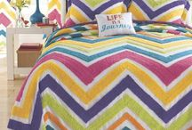 Bedding / A new season is the perfect time to update your bedroom. With a colorful bedspread, sheet or blanket, you can give your room a fresh and fun new look for the summer.