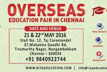 Overseas Education Fair - Riya Education / Overseas Education Fairs are conducted to help students to achieve their dream of studying abroad.