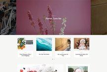 Feminine WordPress Theme by Nadanora