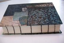 handmade collage journals