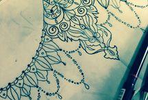 unterbrust tattoo