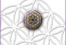 "Mis Mandalas / Geometría  ""La flor de la Vida"" Mi corazón"
