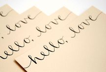 Calligraphy Crafts Ideas