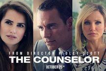 The Counselor  / Twentieth Century Fox will release The Counselor on October 25, 2013. http://www.thecounselormovie.com/
