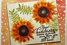 Painted Harvest Cards