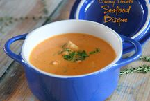 Soup Time / Soups for starter or for main meal, soups are fabulous~