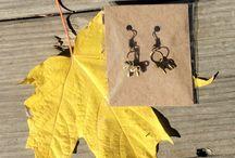 Renaissance Jewellry/Swedish Dala Horse Necklace and Earrings