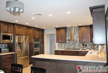 Transitional Style Kitchens / by Cabinets.com by Kitchen Resource Direct
