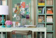 Craft Rooms / by A Pop of Pretty Blog