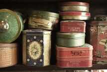 storage tins / by TaRasai White