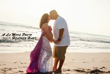 Malibu Maternity Pregnancy Photography Pictures - Best Belly Shots! / Beautiful maternity pictures from A La Mode Photo taken at the beach in Malibu by photographer, Heather Hart. www.alamodephoto.com