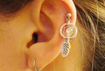 Earings and pretty things / Want mine done so just getting some ideas for future presents ;)