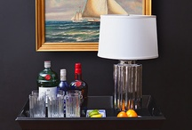 Ideas for Bar Cart Styling / bringing back the resurgence of cocktail hour