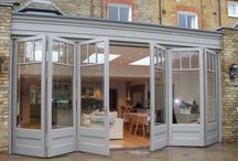 Sliding Folding Doors: Just Roof Lanterns /  Ideas for your home extension using sliding folding doors.
