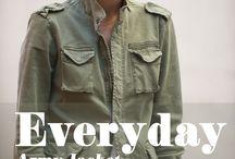 Fashion & Street style ( Military, Field jaket)