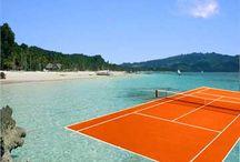 Lovely Tenniscourts / Idylliske perler av Tennisanlegg World Wide